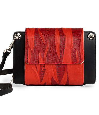 NYBER Purse &amp; Sleeve<br> Dragon Flames!